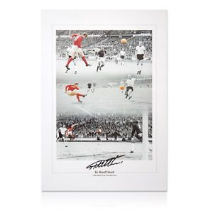 Sir Geoff Hurst signed print 1966 World Cup Final Hat Trick Fantastic price £15. . http://www.champions-league.today/sir-geoff-hurst-signed-print-1966-world-cup-final-hat-trick-fantastic-price-15/.  #1966 World Cup #GBP #Geoff Hurst
