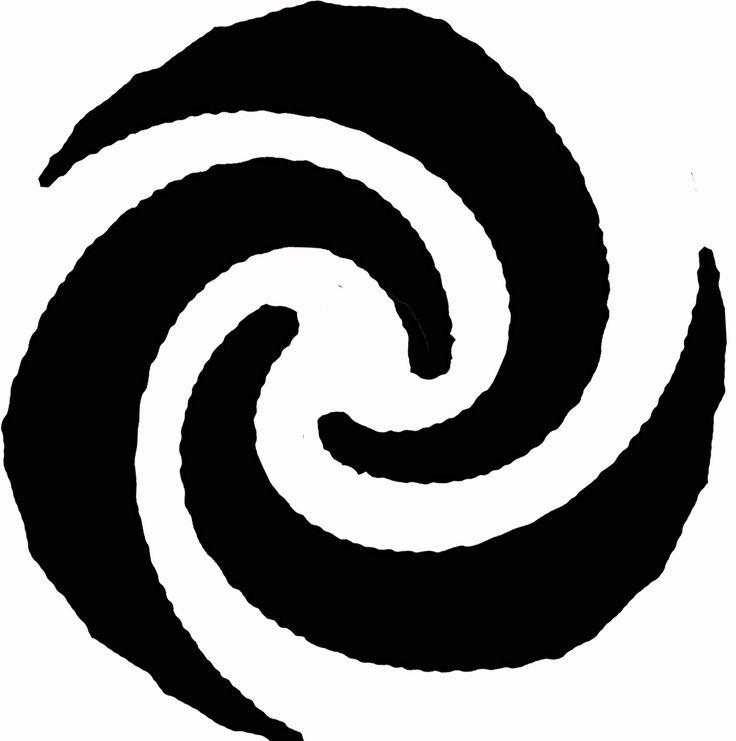2014 08 12 Ontwerp van de vierde Keltische symboolsteen - element lucht. De 3 spiraalarmen (een Keltische triskele) symboliseren het wervelen van de wind, zoals ook bij een grote wervelstorm zichtbaar is van bovenaf. Beeldhouwer: Andre van Veghel (www. Vandré.nl).