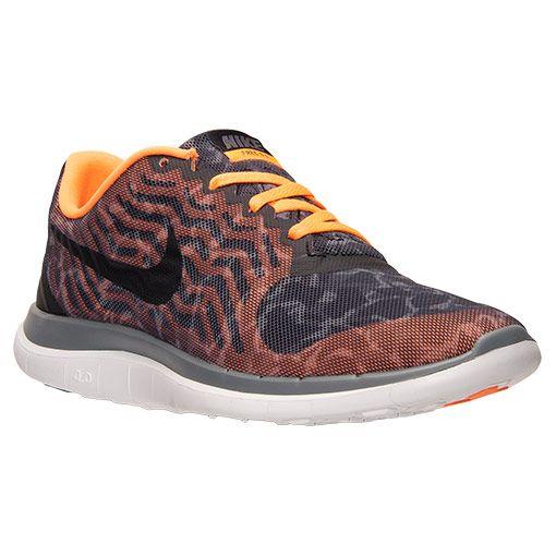 Women\u0026#39;s Nike Free 4.0 V5 Print Running Shoes - 729515 001 | Finish Line