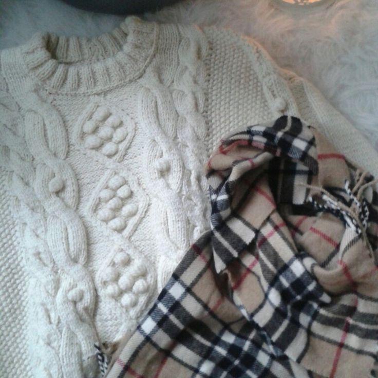 Sweater for fall # knitting# handmade# wool #
