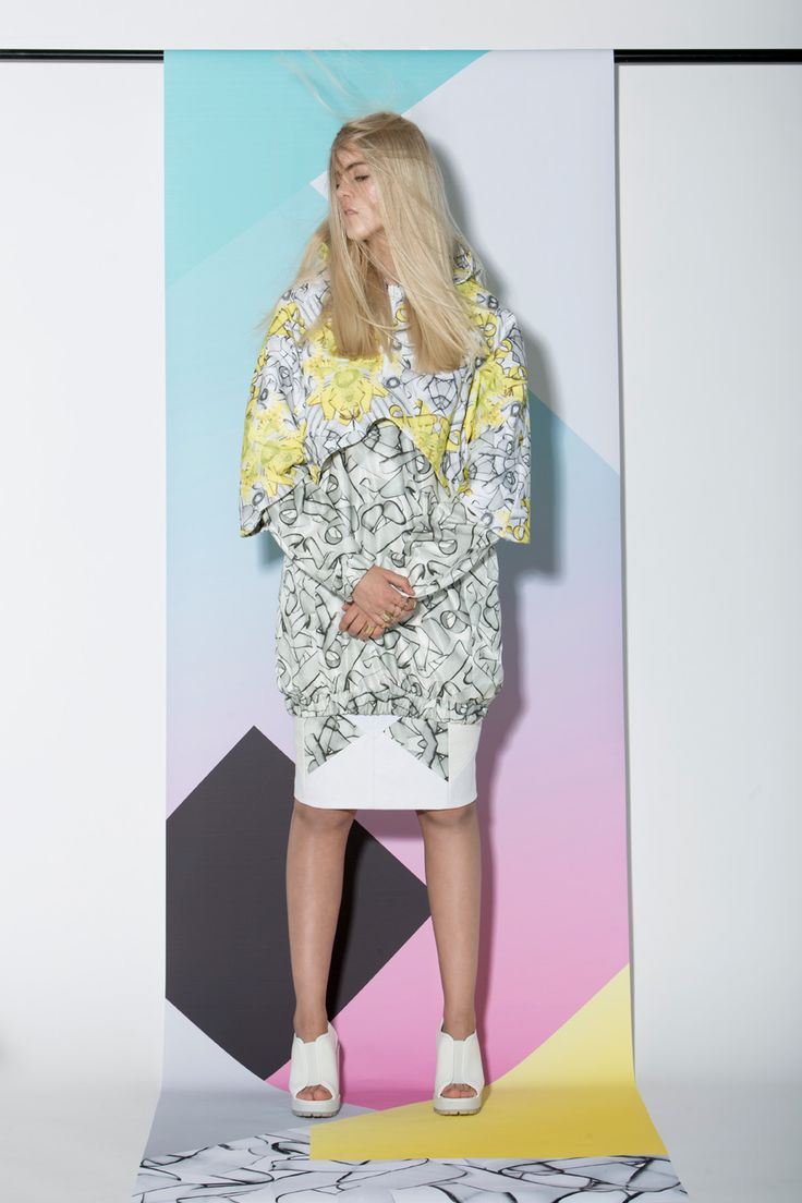 AGURK SS14 Collection. Cool Scandinavian fashion brand designs unique feminine streetwear. Editorial fashion photoshoot. #scandinavian #streetwear #fashion #danishdesign #femininestreetwear
