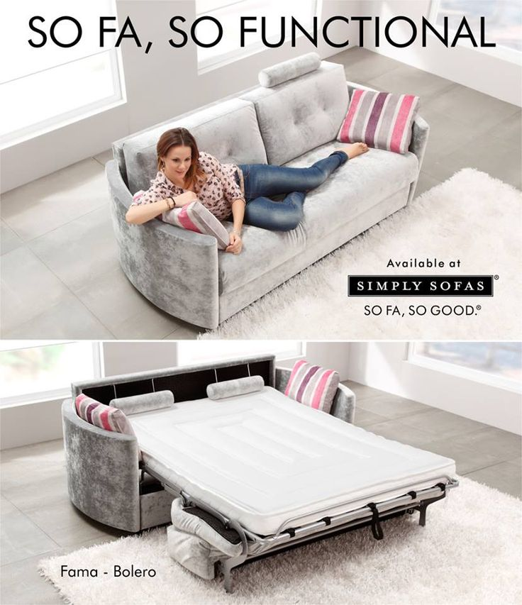 A sofa during the day. A bed at night. A lower seat and a shorter depth grants Bolero a distinct style. #Sofas #Sofabed  Visit: http://simplysofas.in/product?product_id=26