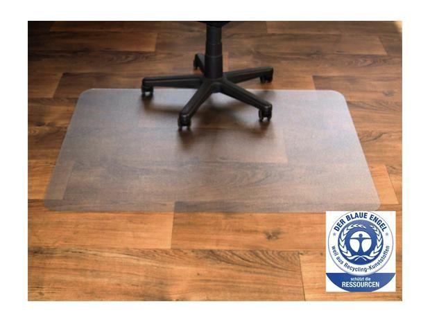 Bodenschutzmatte  (80 x 60 cm, Ohne Noppen)