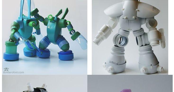 Si quereis inspitración para fabricar vuestro propio robot , sólo necesitáis una página tan alucinante como esta.  Yo voy a ver si encu...