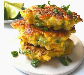 Mexican Corn Cakes with Jalapeno