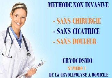 La Cryolipolyse pas chère, séances illimitées à domicile - Cryocosmo