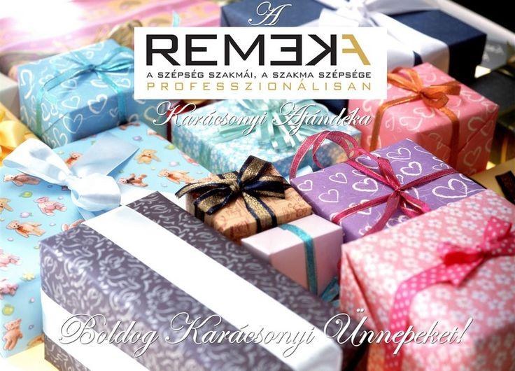 Kedves Szépítő! Ha szeretnéd megkapni a karácsonyi ajándékod, írj az info@remeka.hu címre. Jelige: ajándék, és írd mellé, hogy melyik szépségipari szakmában dolgozol! Boldog ünnepeket kíván a REMEKA csapata