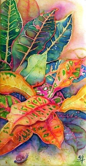 croton. so colorful. the artsy plant.