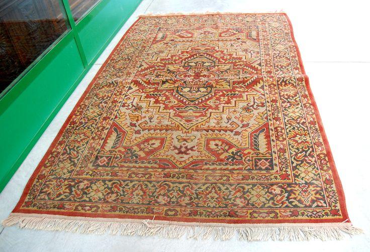 Grande tappeto orientale antico 170 x 284 cm