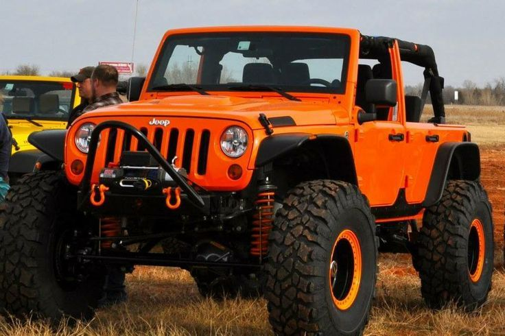 orange jeep wrangler | Orange Jeep Wrangler
