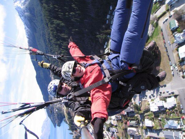 Paraglide, Queenstown, NZ