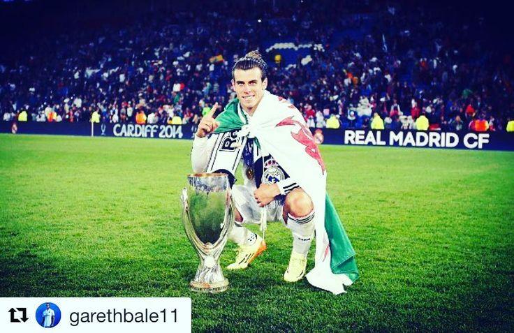 Bale  Repost @garethbale11 with @repostapp  TBT to the last Super Cup final. Hoping we can get another win in Norway #halamadrid #rio #olympic #rio2016 #messi #Ronaldo #Ricardo #neymarjr #DavidLuiz #luiz #RobertoCarlos #carlos #cbf #fcb #mufc #manchester #chelsea #fc #bayern #bayernmunich #realmadrid #madrid #atm #milano #inter #acmilan #milan #ball #condom #Baloncesto