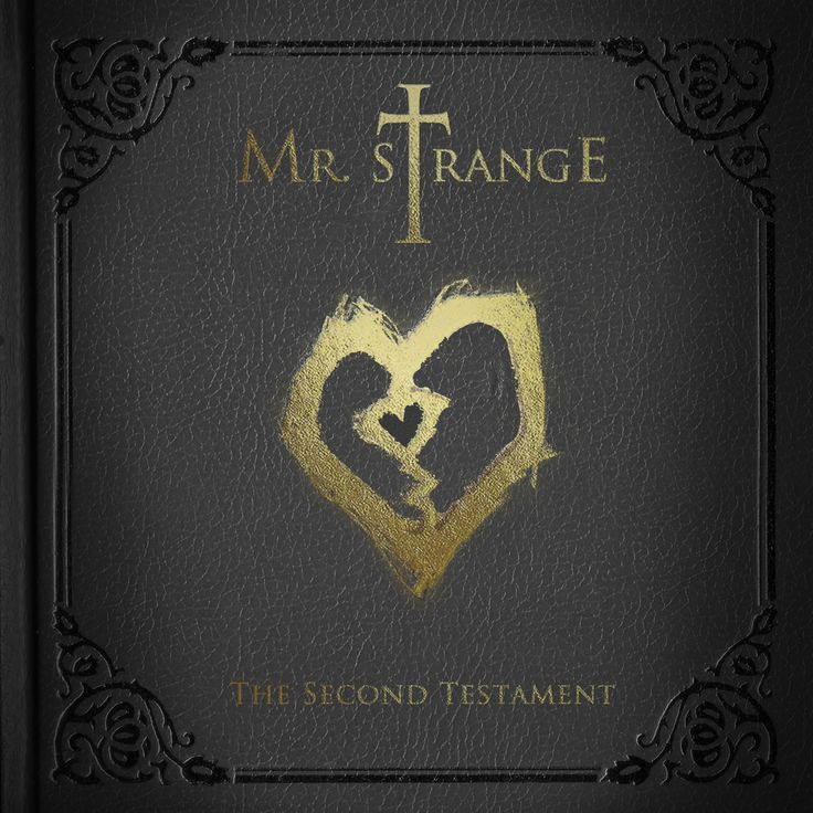 Pre-order the newest CD album release from Mr. Strange; 'The Second Testament'…