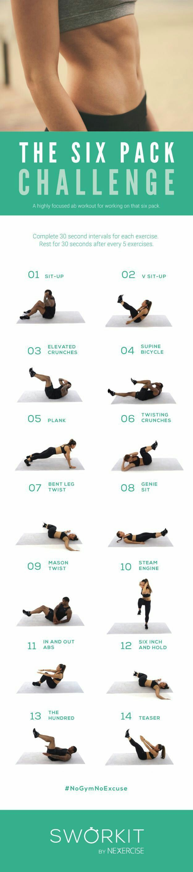 Take this abs challenge