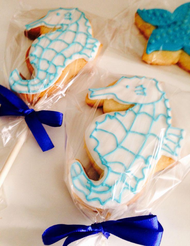 Seahorses cookies