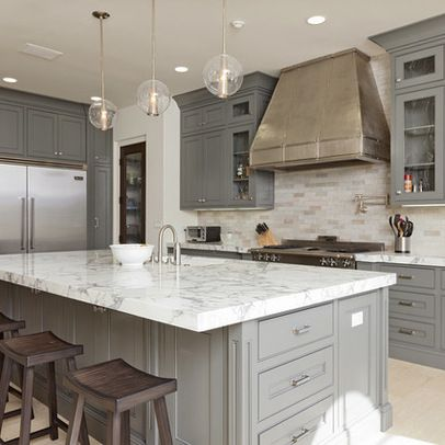 Gray Cabinets Design Ideas Pictures Remodel And Decor