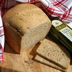 Ирландский цельнозерновой хлеб в хлебопечке