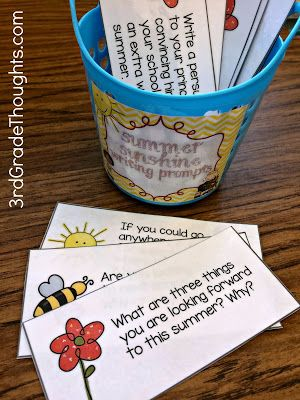 3rd Grade Thoughts: Using Writing Prompts in My Classroom