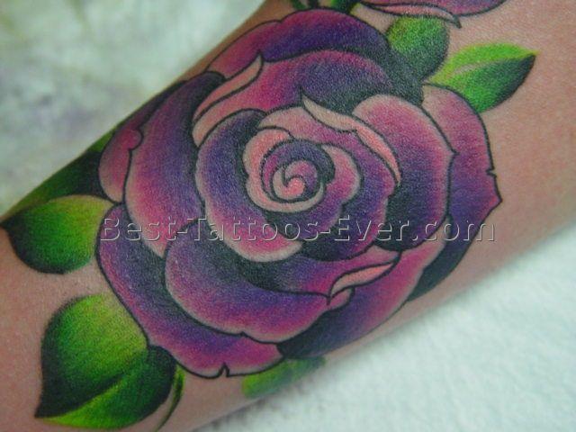 best 25 purple rose tattoos ideas on pinterest. Black Bedroom Furniture Sets. Home Design Ideas