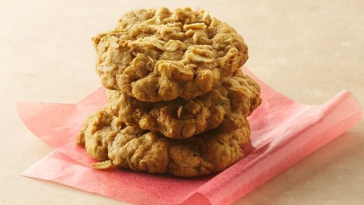 Brown Sugar-Oatmeal Cookies