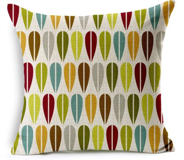 These beautifully paired colour selections on this cushion cover are perfect for almost any home, with hints of green, aqua, tangerine and maroon. Bring your living room to life with a cushion cover from OzUrban at http://ozurban.com #cushions #cushioncovers #homedecor #interiordesign #australiandesign #ozurban #leaf