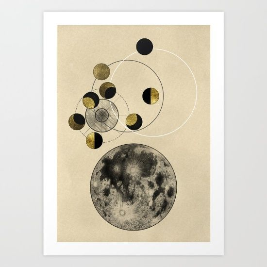 phases of the moon, phase and cycle, moon phases, solar system...