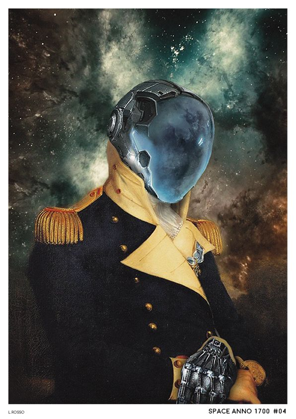 Space Anno 1700 #04 Photobashing & Painting - Adobe Photoshop