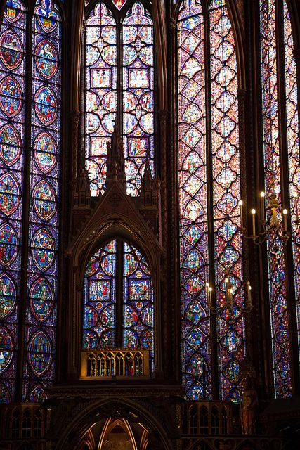 Stained Glass Windows - Saint Chapelle