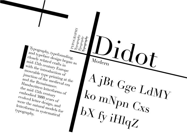 Best Didot Images On   Posters Typographic Poster