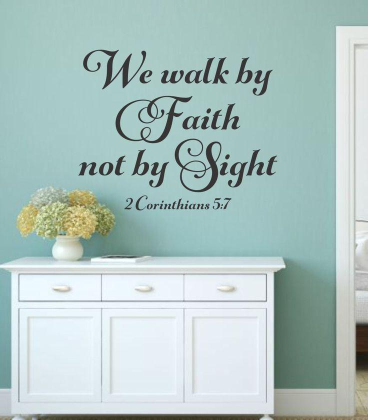The Best Christian Wall Decals Ideas On Pinterest Wall - Vinyl wall decals bible verses