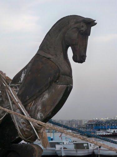 Phoenician ship - El Mina,Tripoli, Lebanon سفينة فينيقية مرفئ الميناء طرابلس