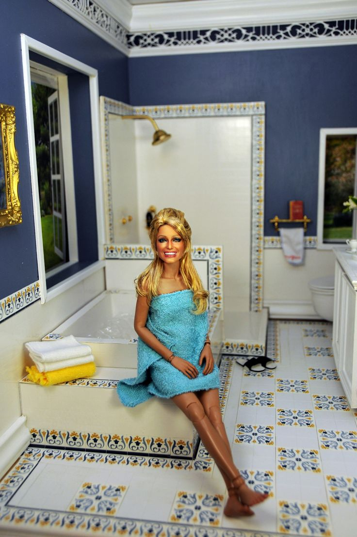1201 best celebrity dolls and dioramas images on pinterest for Master bathroom expansion