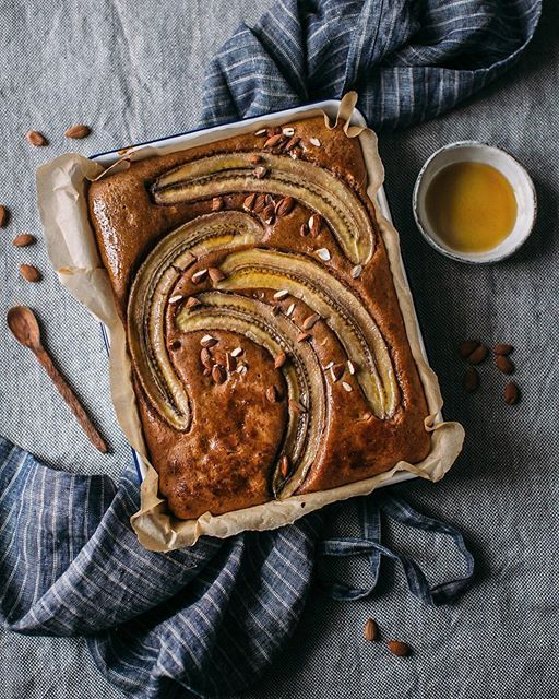 Almond Butter Banana Cake on @the_feedfeed https://thefeedfeed.com/_foodstories_/almond-butter-banana-cake