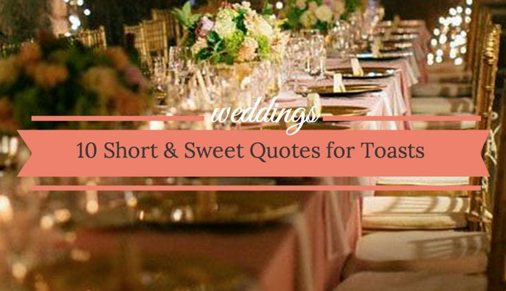 These great best man speeches should provide a great baseline of ideas for you to get those creative juices flowing.