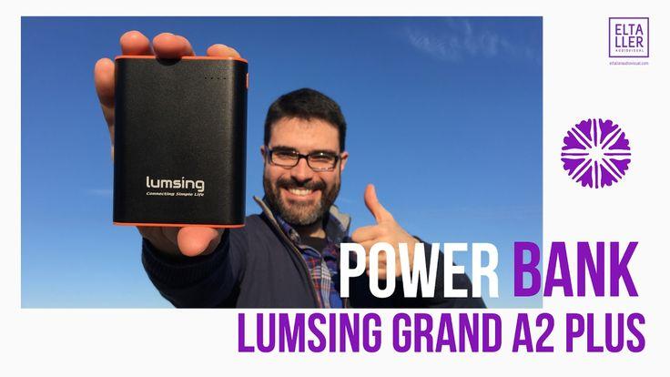 Lumsing Power Bank Grand A2 Plus con USB-C - 10 Cosas que Tienes que Saber