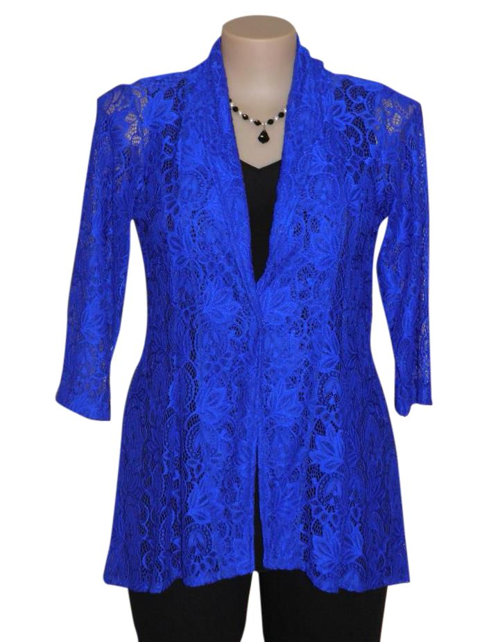 Stunning Shadze of Lace Jacket.Beautifully shaped and very flattering on. www.shadze.co.nz