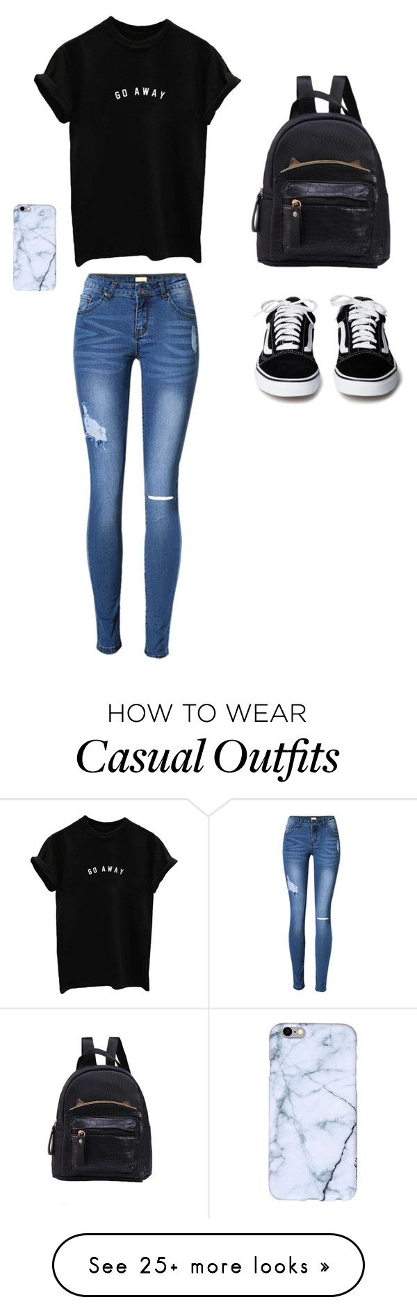 """Casual"" by andreahop on Polyvore"