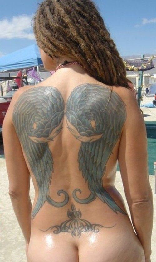 Topless naked finish women