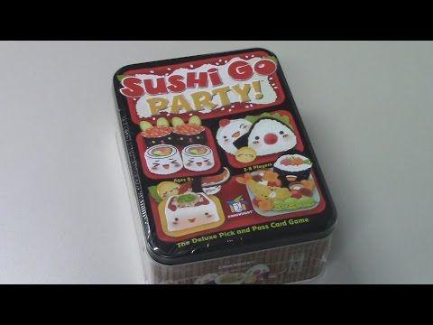 Limón Lúdico Perú: Abriendo la Caja: Sushi Go Party!