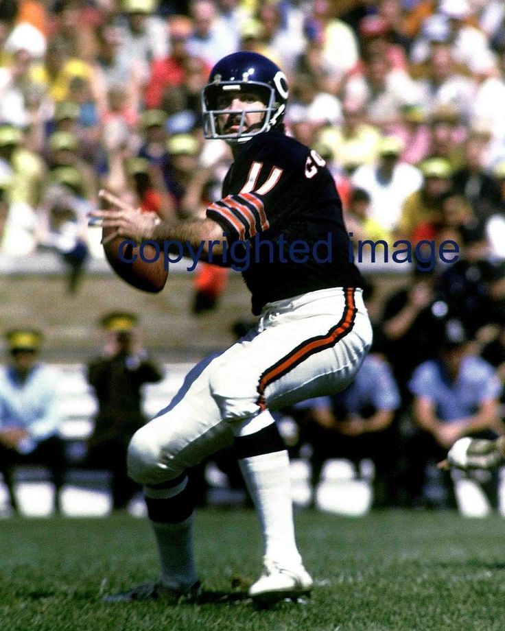Jack Concannon 1967-71  Wrigley Field  Chicago Bears  Color 8x10 B