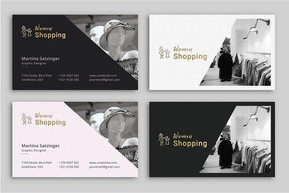 Fashion Business Card Fashion Business Cards Business Cards Creative Templates Business Cards Creative