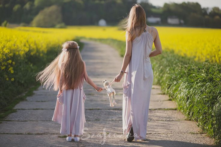 Silver Mist Mum&Daughter Dress