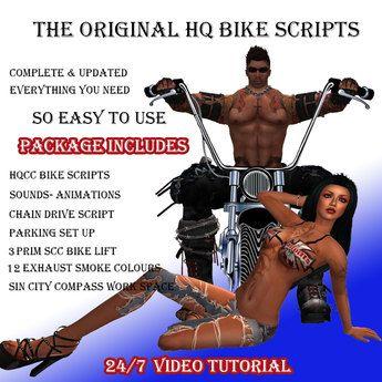 HQCC Bike Scripts 3.0 Newest