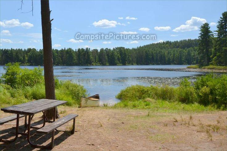 Mew Lake Algonquin Park Ontario Canada
