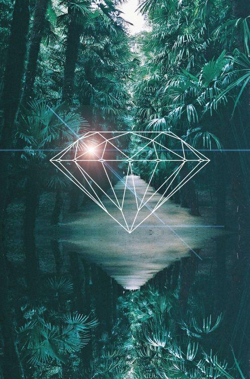diamond tattoo on Tumblr |Diamond Supply Co Tumblr Layouts