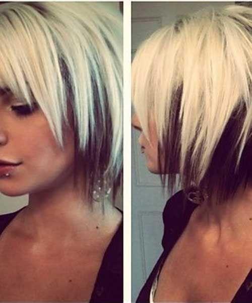 15 Cool Funky Short Hair Styles | http://www.short-haircut.com/15-cool-funky-short-hair-styles.html