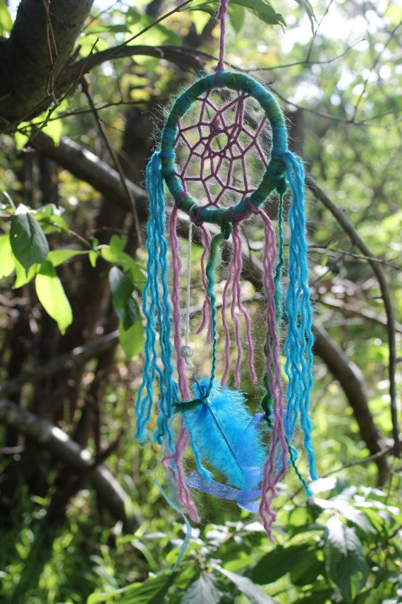 Mermaid Dream Catcher by EveoftheBloodMoon on Etsy