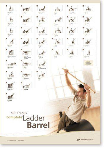 Stott Pilates Complete Ladder Barrel Wall Chart