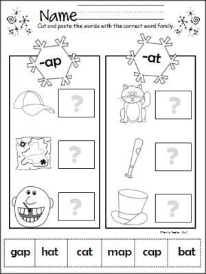 winter themed preschool rhyming worksheets winter best free printable worksheets. Black Bedroom Furniture Sets. Home Design Ideas