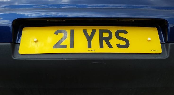Private reg for Sale.  Held on retention certificate.  Ideal for 21st birthday present